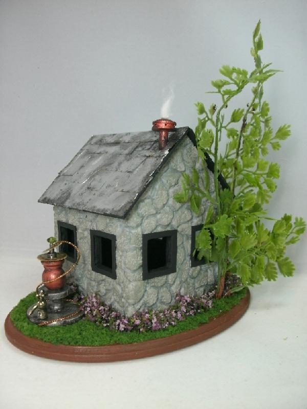 Dollhouse Miniature Steampunk Fairy House