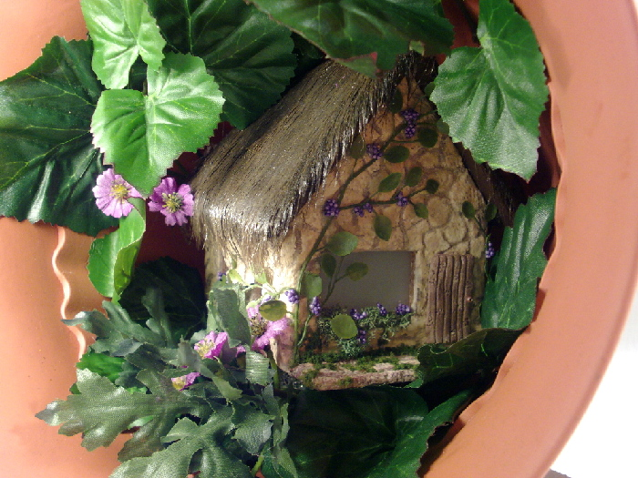 Quarter Scale Grapevine Fairy House
