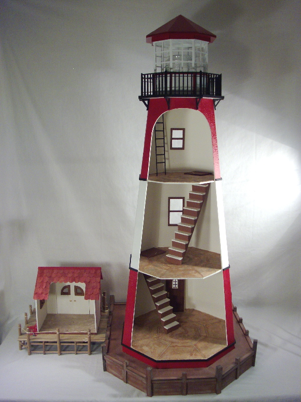 Point luck lighthouse interior for Light house interior