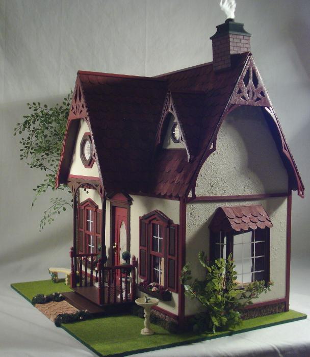 Dollhouse Miniatures Texas: Poinsettia House