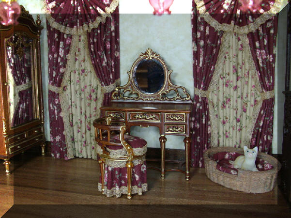 custom rosedale bedroom drapes